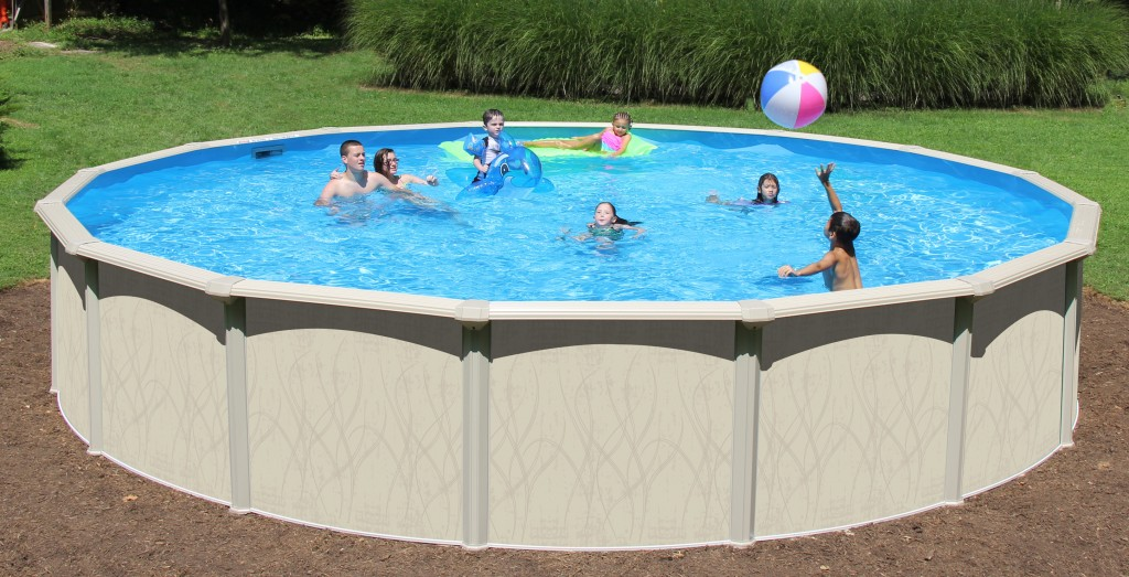 54 In Resin Guard 7in Frame Pool With Service Panel For 2018
