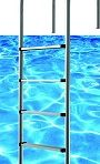 Key West Stainless Steel In Pool Ladder PVC Treads  $169.99