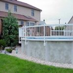 PVC Above-Ground Pool Fencing