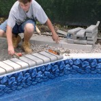 AQUASPORTS Installing Block Edge Finish