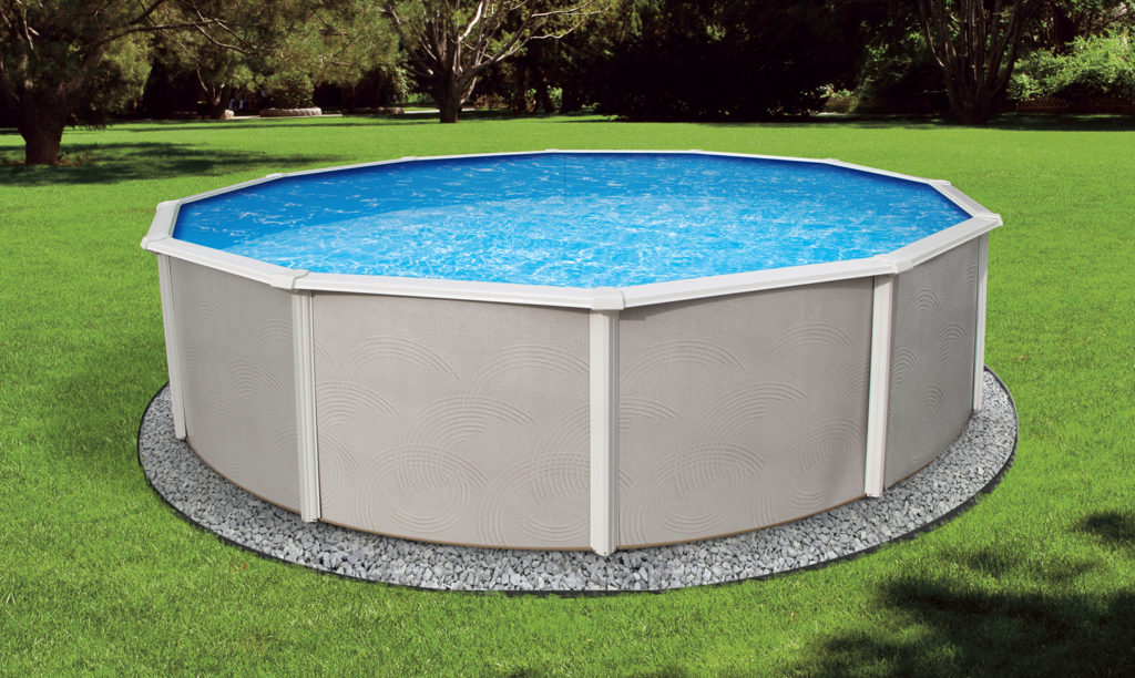 Swimming pool discounters48 belize 6in steel frame for Most popular above ground pools