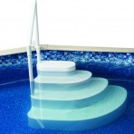 Wedding Cake Step for Pools up to 54″ Deep $399.99