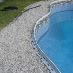 Aluminum Rimlock Coping Included with all In-Ground Pool Kits