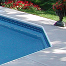 Swimming Pool Discounters Aluminum Rimlock Coping Included With All In Ground Pool Kits