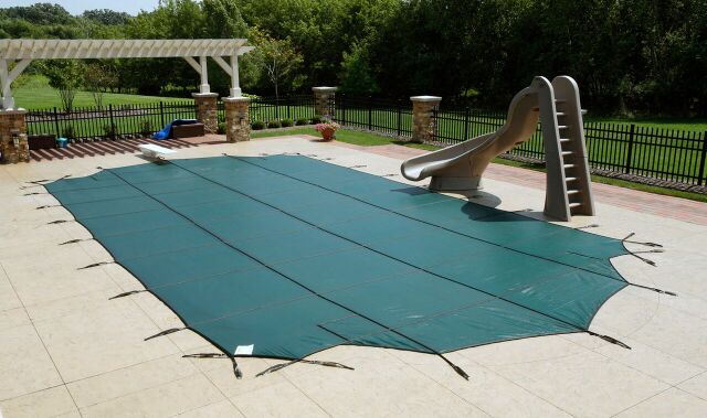 Swimming Pool Discounters12 Year Mesh Safety Cover For Quote Call 1 888 Get Pool