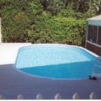 AQUASPORTS With Raised Wood Deck