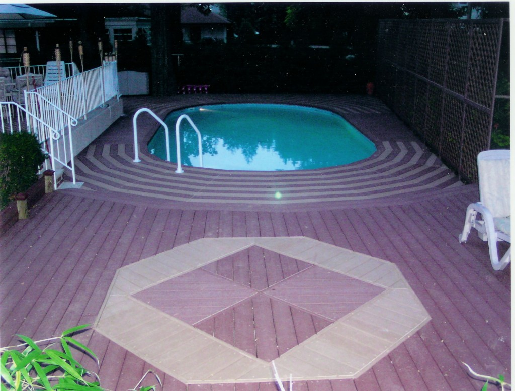 Swimming Pool Discountersaquasports With Multi Level Deck
