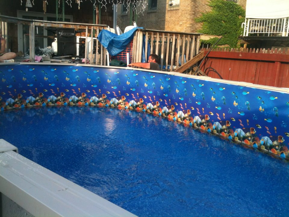 Swimming Pool Liners And Liner Thickness What You Need To