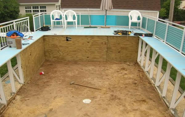 Swimming pool discountersfanta sea kayak wilkes pool for Uses for old swimming pools