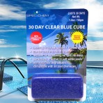 30 Day Clear Blue Cube