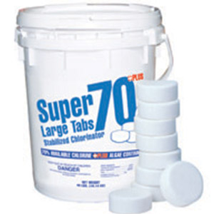 Swimming Pool Discounterssuper 70 Chlorine Tabs