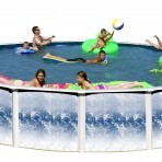 24'X48″ Round (6in) Steel Swimmaster FINAL CLOSEOUT $688.84