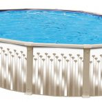 2017 RG-5000 12'X24'X52″ Oval (7in) Steel Pool CLOSEOUT $1,099.99