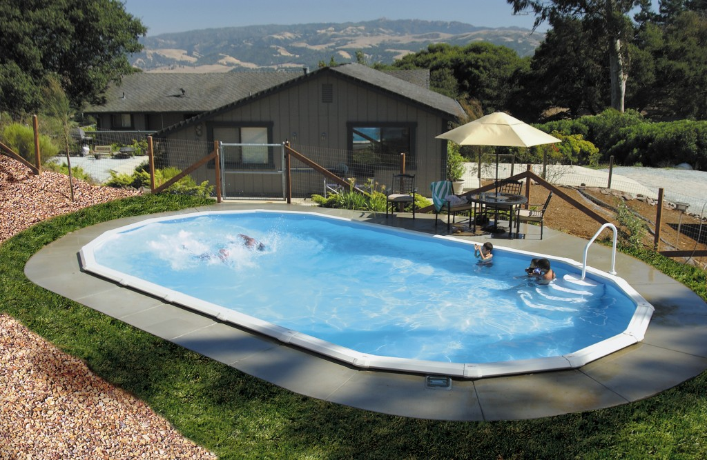 15 X 30 Oval Above Ground Pool Round Designs