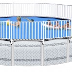 18'X52″ Round Deck Mate 2 Pool & PACKAGE CLOSEOUT $3,288.88