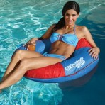 Spring Float Sun Tube Lounger $36.99