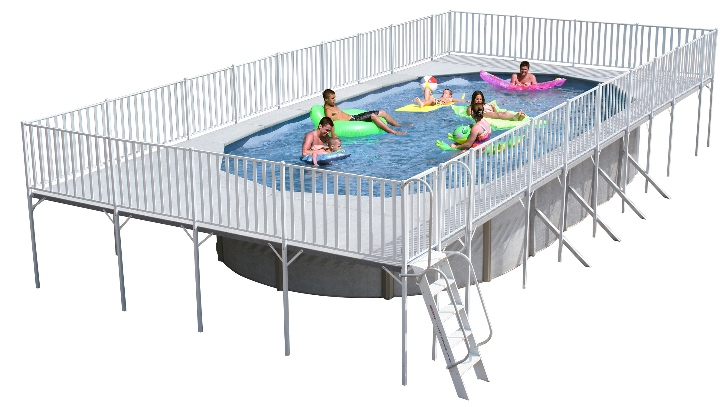 2019 15 x30 x52 oval promenade factory buy swimming for Above ground pool decks las vegas
