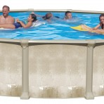 54″ Colossus Aluminum (8in) Frame Our Best Aluminum Pool for (2018)