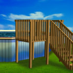 2018 DECK MATE 100-B 15'X52″ Pool PACKAGE & DECK CLOSEOUT $1,484.94