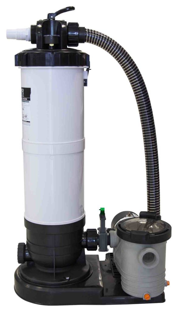 Swimming Pool Discounterspower Clean Cartridge Filter System With Backwash