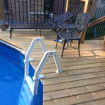Premium PVC In-Pool Ladder $99.99