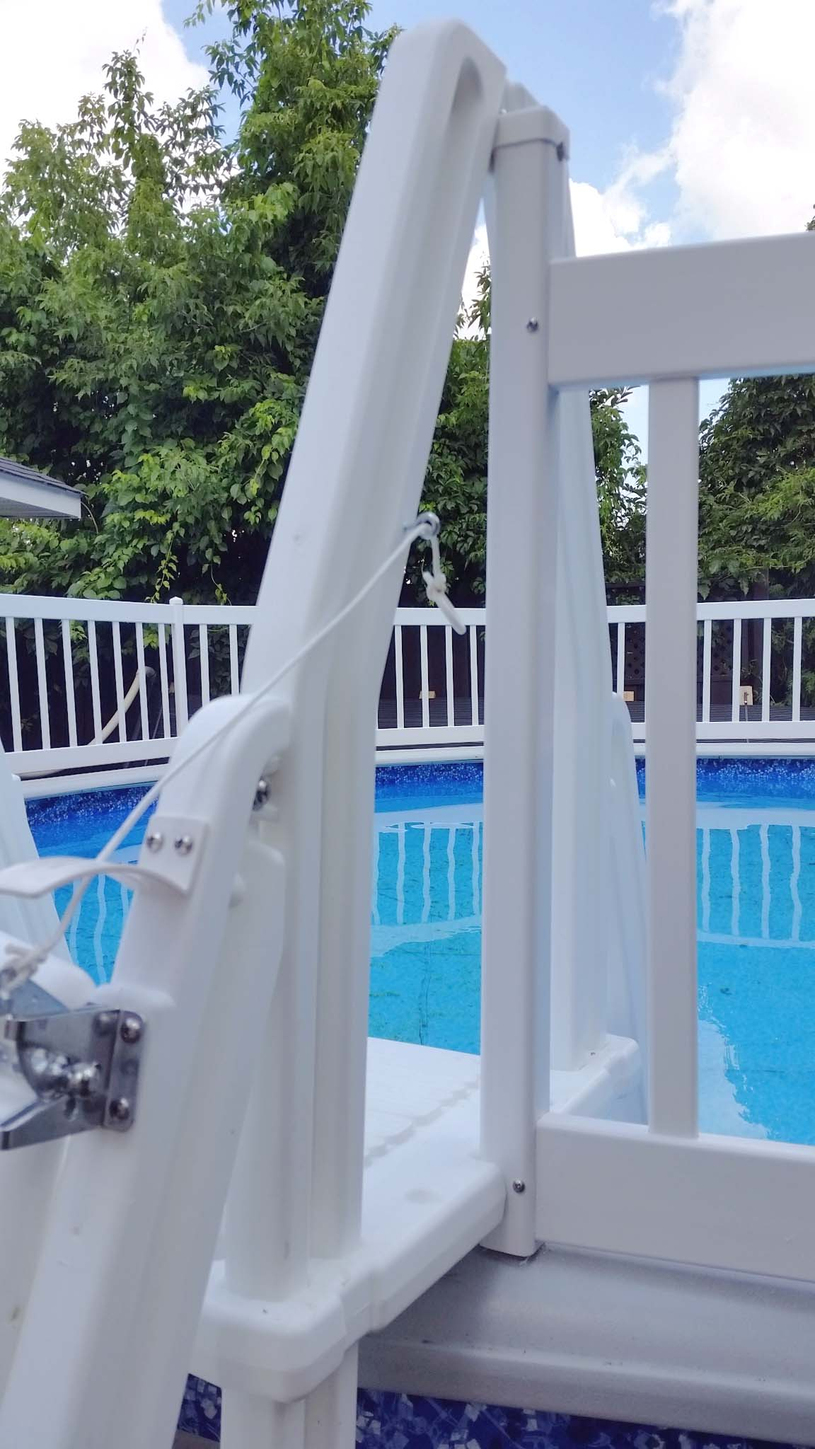 2019 18 x52 round fence mate package closeout swimming - Swimming pool discounters ...
