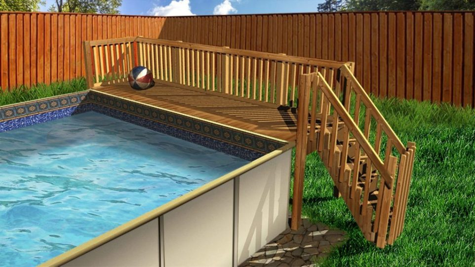 Hercules Rectangular Pool Swimming Pool Discounters