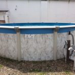 21'X54″ Round Battleship DEMO POOL and PACKAGE $897.88