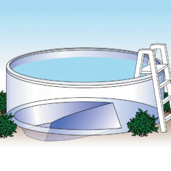 Above ground stock liners swimming pool discounters - Swimming pool discounters ...