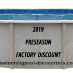 2019 15'X52″ Round (7in) Freedom Resin FACTORY BUY $599.97