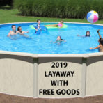 2019 27'X54″ LX Saltwater Round Pool CLOSEOUT with FREE GOODS $1,899.99