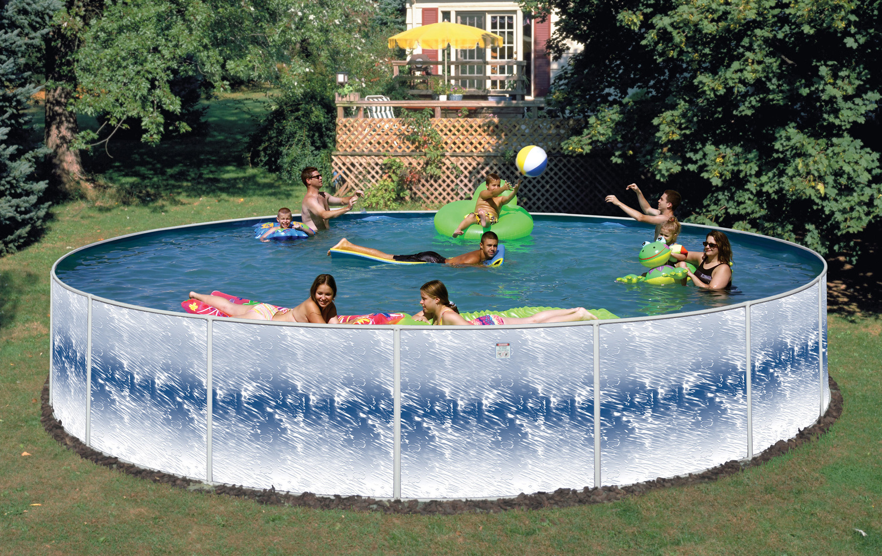 2019 18 x52 round solar flare pool package closeout - Swimming pool discounters ...
