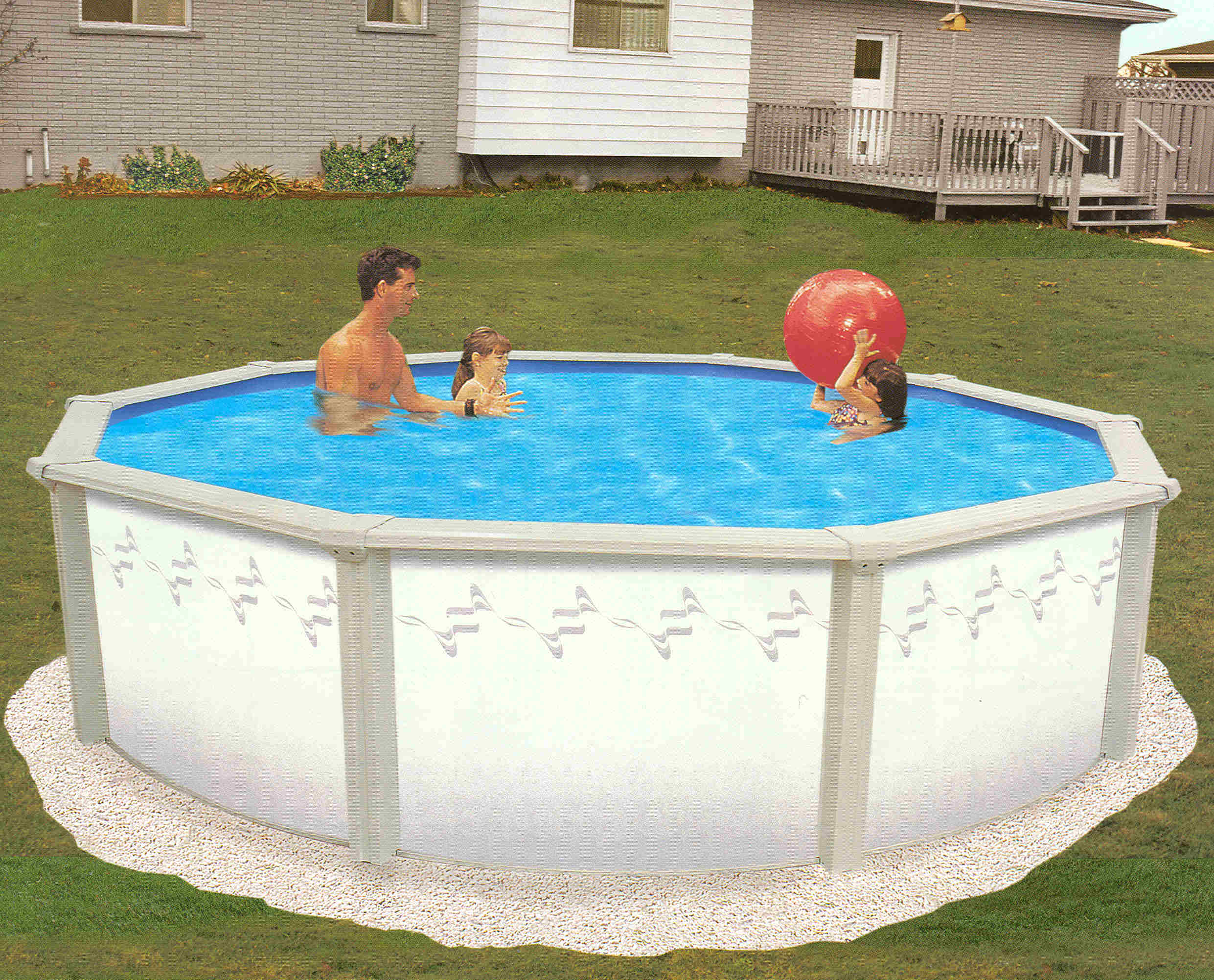 2019 Belize 21 X54 Round 6in Steel Pool And Package Closeout Swimming Pool Discounters