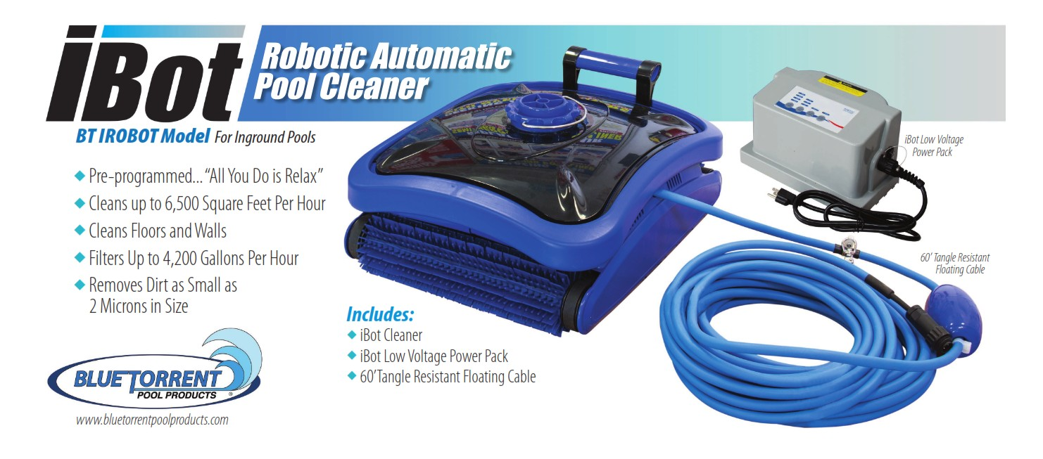 ibot electric automatic pool cleaner swimming pool discounters