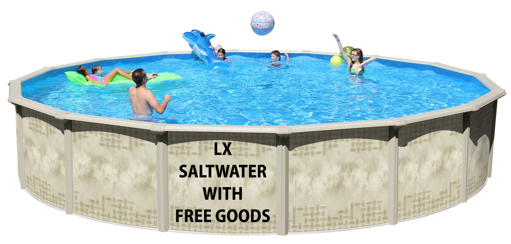 2019 15 X54 Lx Saltwater Round Pool Closeout With Free