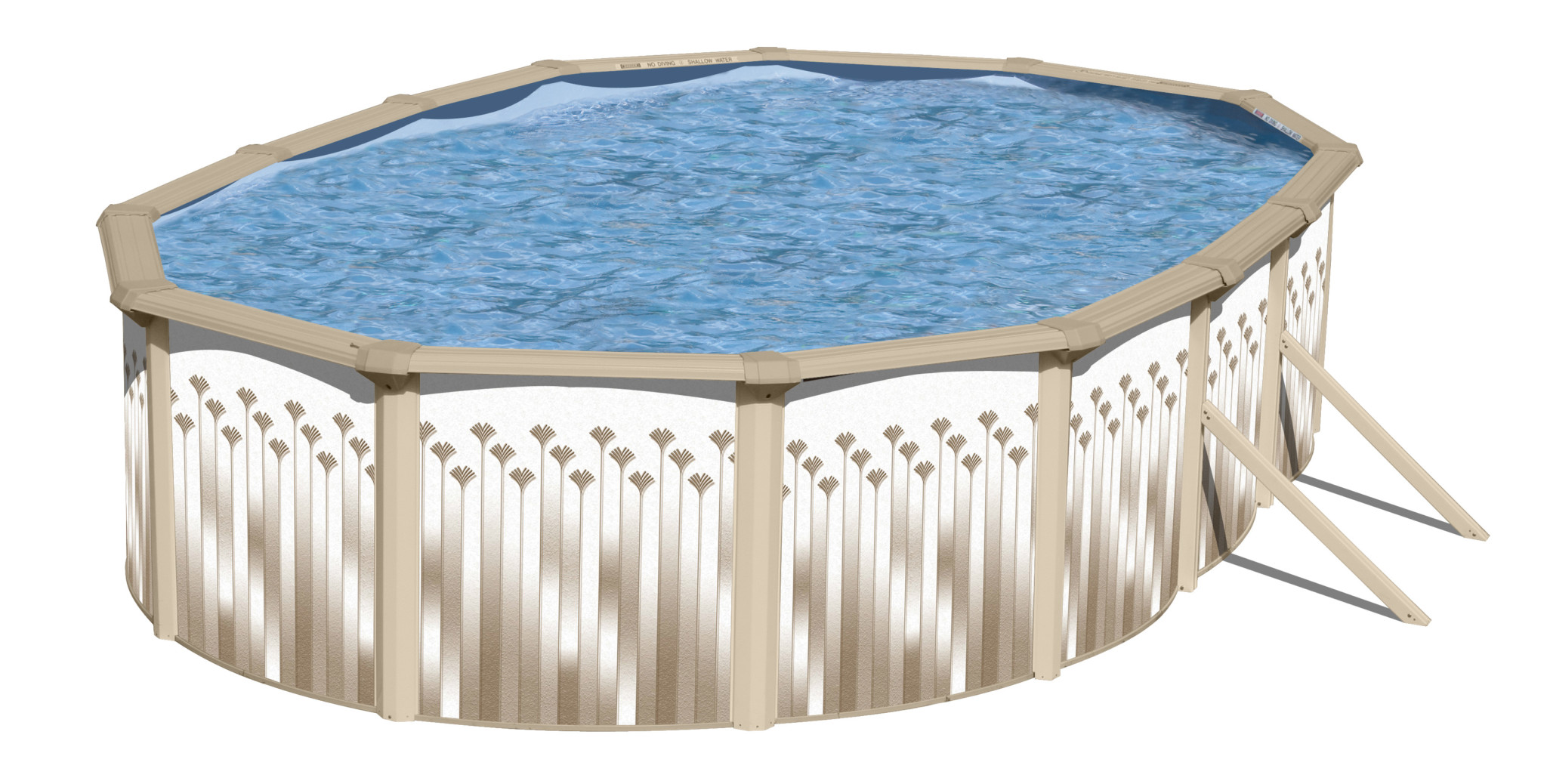 swimming pool discounters18\'X33\' Oval OCEAN up to 6\' Deep Pool ...