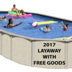 2018 18'X33'X52″ HL Saltwater NB Oval Pool CLOSEOUT with FREE GOODS $2,089.90