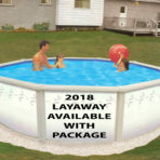 2018 (Belize-2) 21'X52″ Round Steel Pool and PACKAGE CLOSEOUT $999.99