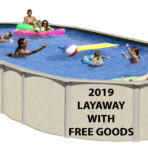 2019 12'X24'X52″ HL Saltwater  NB Oval Pool CLOSEOUT with FREE GOODS $1,689.90