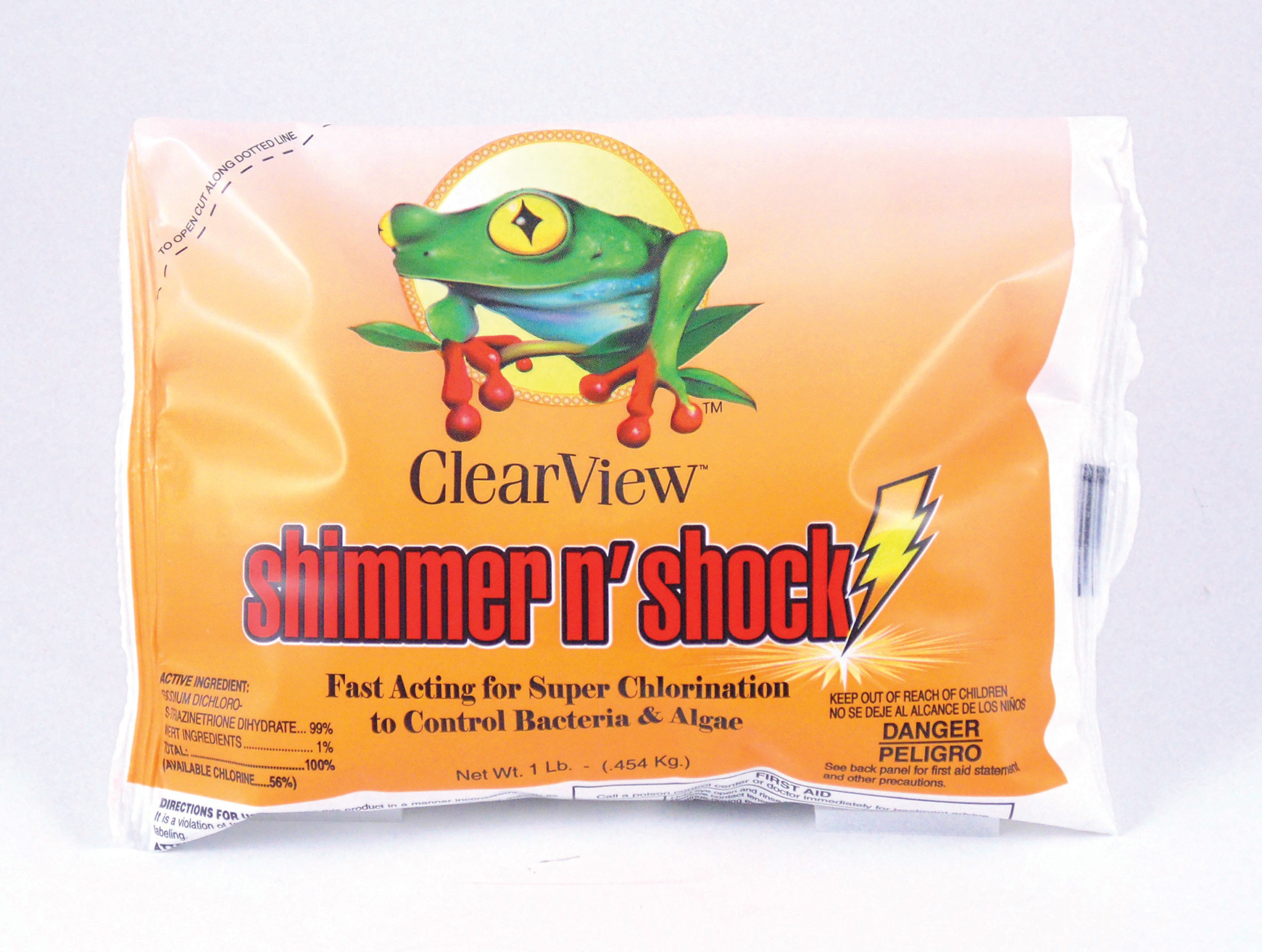 Shimmer Shock Case Of 12 1lb Bags Swimming Pool Discounters