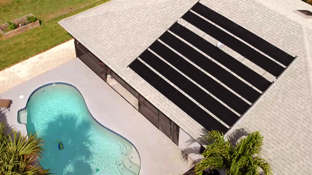 Sunheater Inground Pool Solar Heating System Swimming