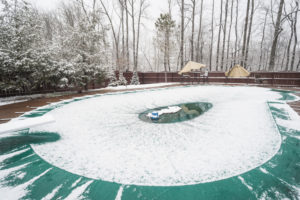 winter pool safety
