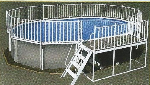 Swimming Pool Discounters Oval Side Deck Pools