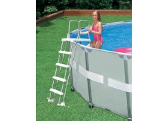 Swimming Pool Discounters A Frame Above Ground Ladder 48 To 52
