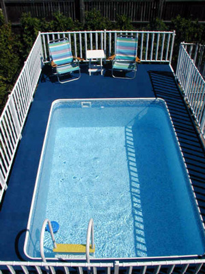 Beaded Rectangle Liners Admirals Walk, Kayak Above Ground Pools