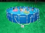 18′ X 48″ intex METAL FRAME Pool Package $388.87