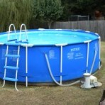 15′ X 48″ intex METAL FRAME Pool Package $299.99