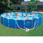 24′ X 52″ Metal Frame Pool Package $488.89