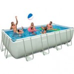 9′ X 18′ X 52″ Intex Ultra FRAME Rectangular Pool Package $499.97