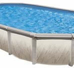 12′ X 22′ X 52″ Oval Freedom (7in) Resin CLOSEOUT  $1388.87